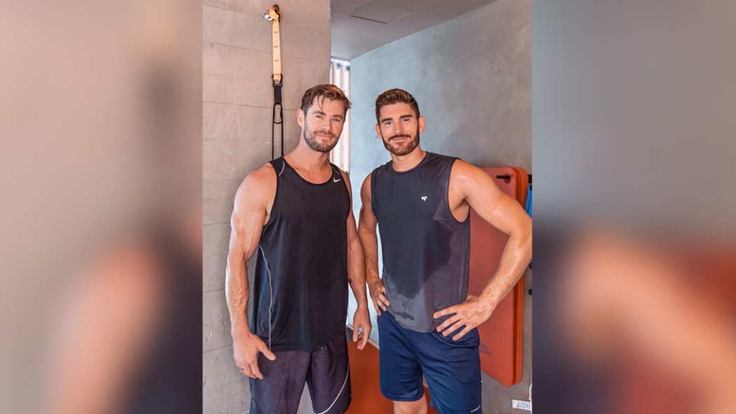 YouTuber Does Chris Hemsworth's Workout—with Thor himself! thumbnail
