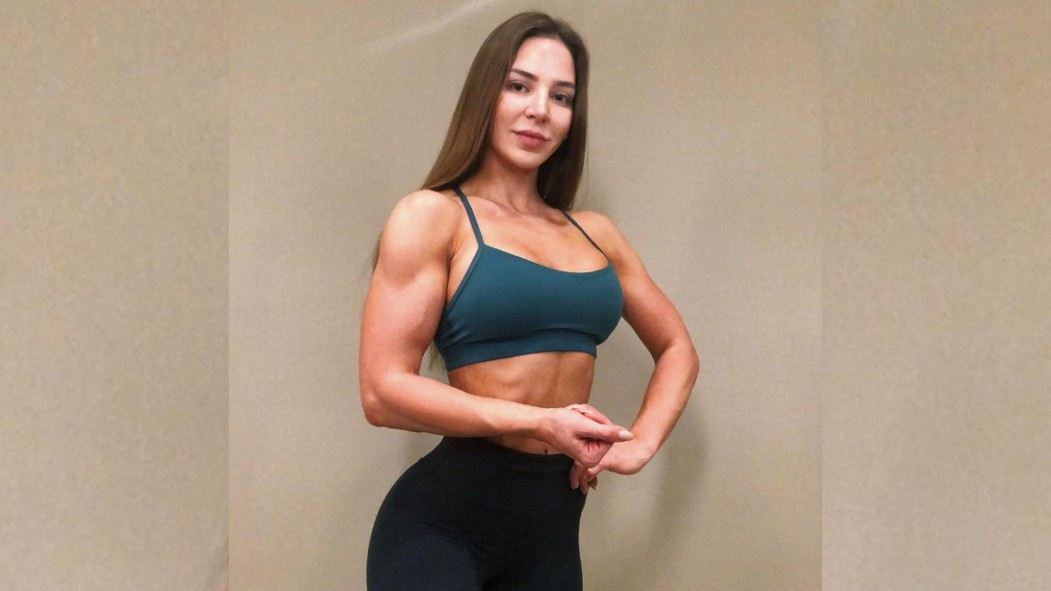 90 Day Fiancé Star Anfisa Nava Bodybuilding thumbnail