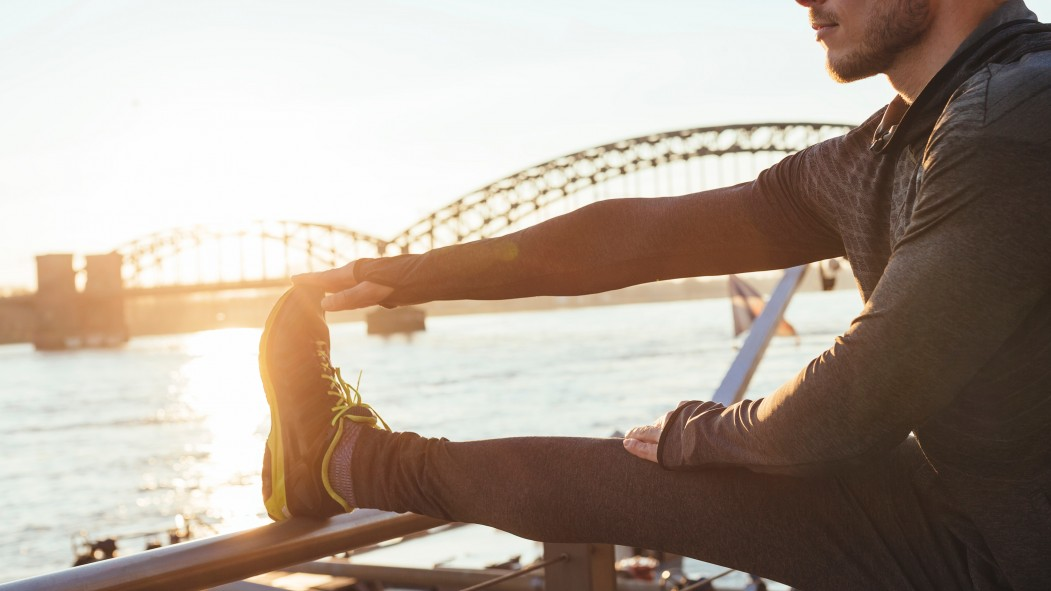 Man Stretching Ankles thumbnail