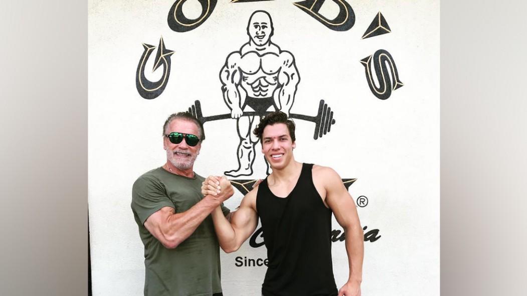 Arnold Schwarzenegger's Son Follows in His Footsteps thumbnail