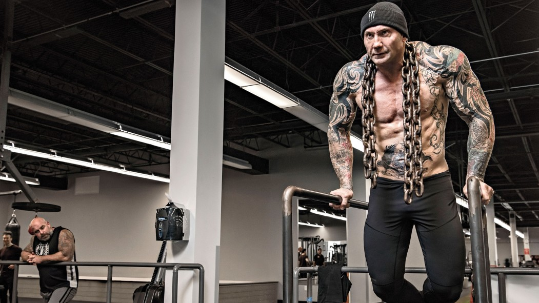 Dave Bautista's Chest Workout thumbnail