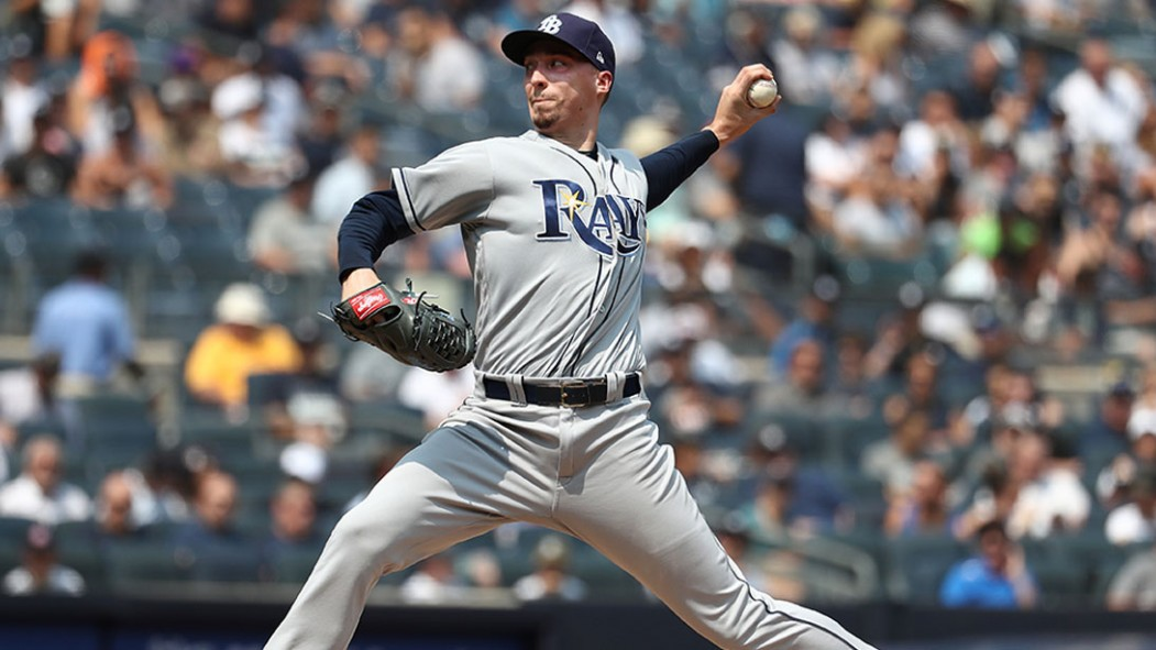 Blake Snell #4 of the Tampa Bay Rays  Video Thumbnail