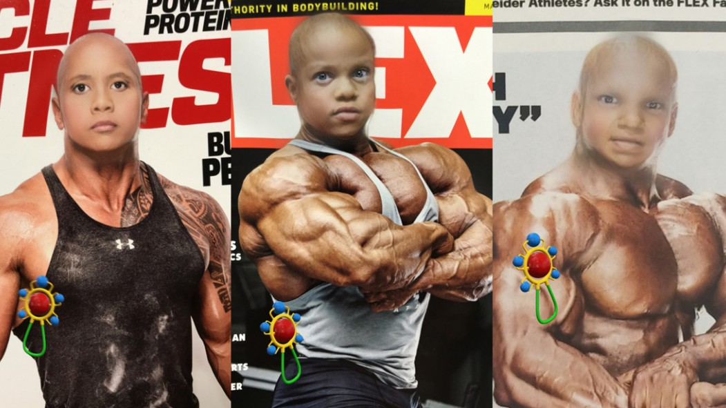 "These ""Baby"" Bodybuilders Will Have You in Tears thumbnail"