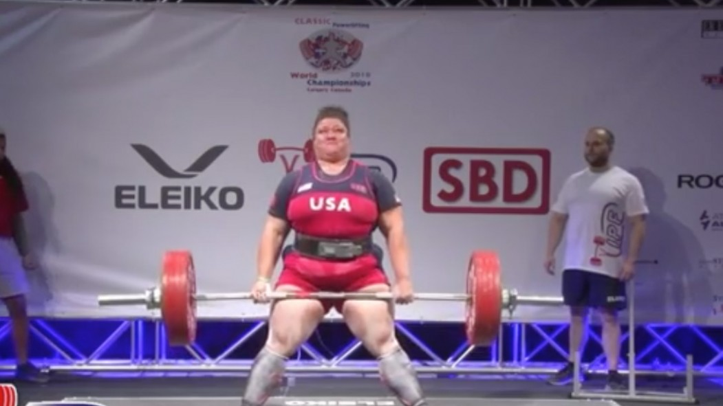 Watch: Bonica Brown Sets Multiple World Records at 2018 IPF Powerlifting Championships thumbnail