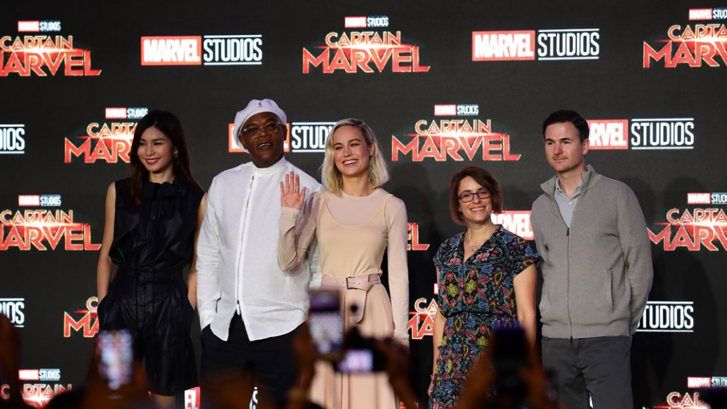 Brie Larson's Instagram Training and History of 'Captain Marvel' thumbnail