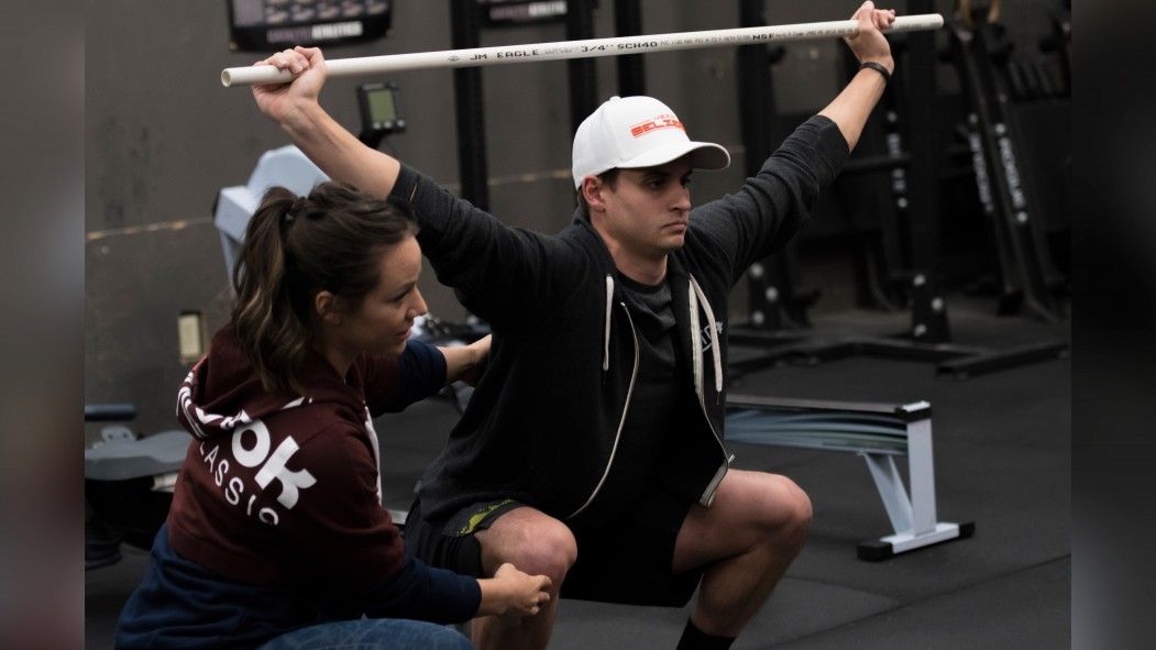 Camille Leblanc-Bazinet Trains CrossFit Athletes Video Thumbnail