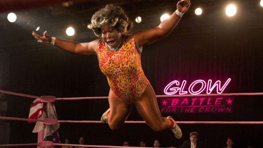 How Real-Life Pro Wrestler Kia Stevens Found Her 'GLOW' thumbnail