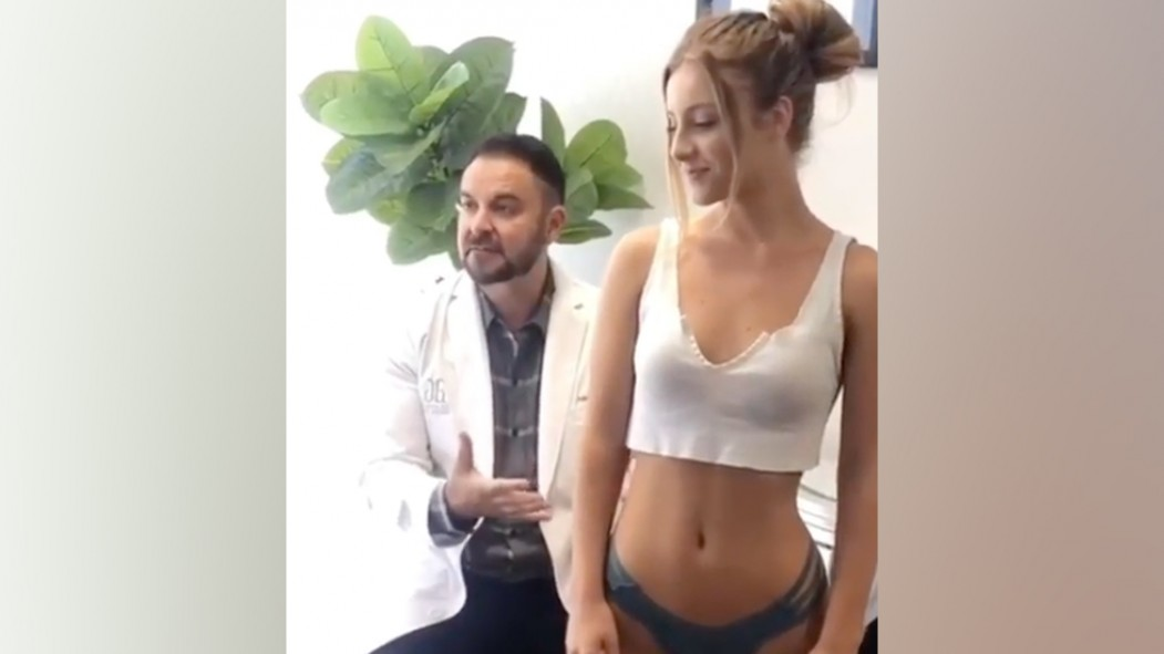 """This Instagram Model Literally Had a Surgeon """"Certify"""" That Her Butt Is Real thumbnail"""