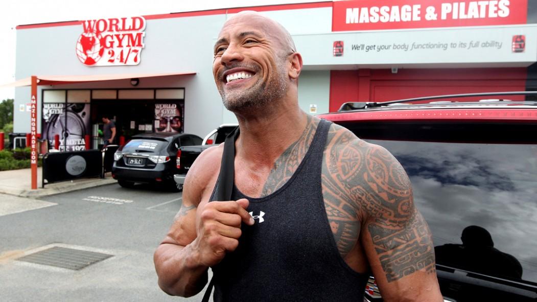 Dwayne Johnson Outside of the Gym  thumbnail