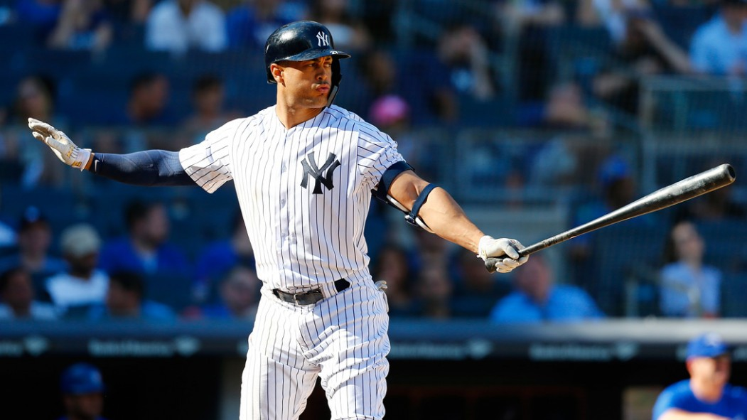 Yankees Outfielder Giancarlo Stanton Talks Old-School Lifts and Recovery thumbnail