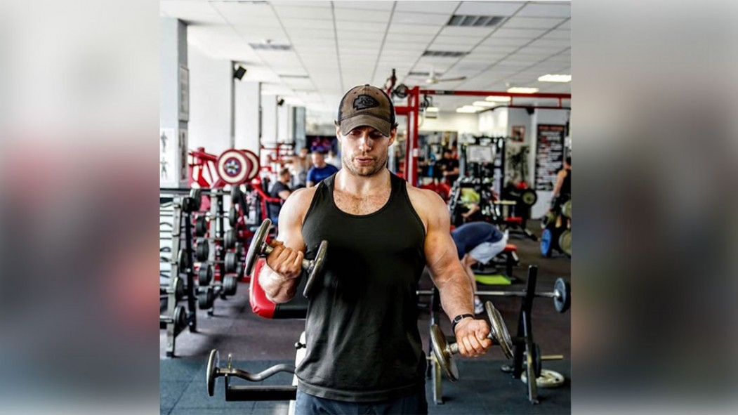 Henry Cavill Posts Throwback on Instagram to Remind Us You Don't Need Massive Weights to Make Gains thumbnail