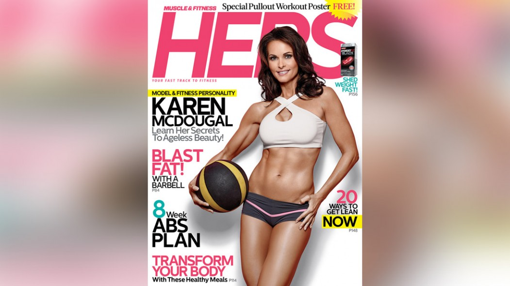 'Muscle & Fitness HERS' Spring Issue Features Karen McDougal Video Thumbnail