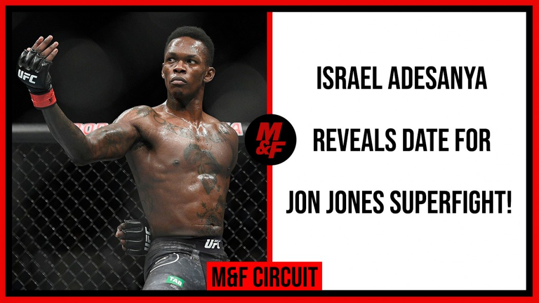 "Israel Adesanya on Jon Jones: ""Even If He Moves Up to Heavyweight, I'll Chase Him"" Video Thumbnail"