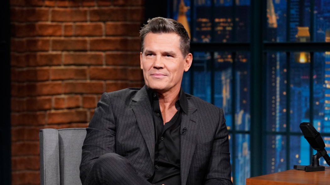 Actor Josh Brolin During an Interview thumbnail