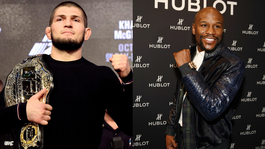 Khabib Says He Wants to Fight Mayweather in Moscow  thumbnail