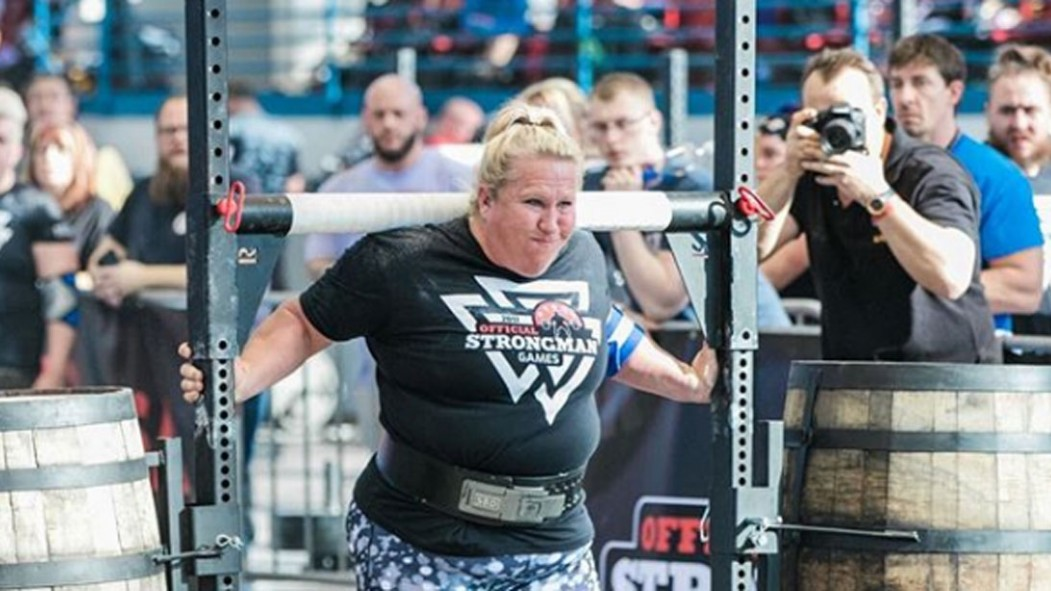 Strongwoman Kristen Rhodes Breaks World Record at the Arnold thumbnail