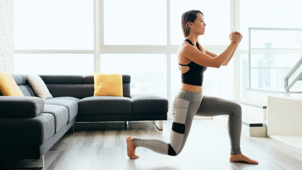 Woman Doing Lunges thumbnail