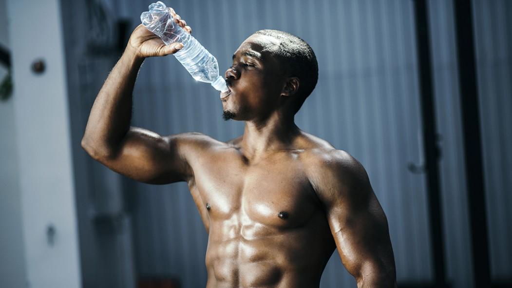 Man Drinking Water  thumbnail