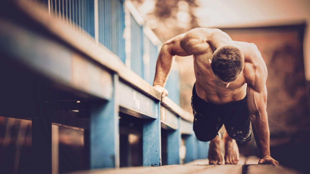Man Training Outdoors thumbnail