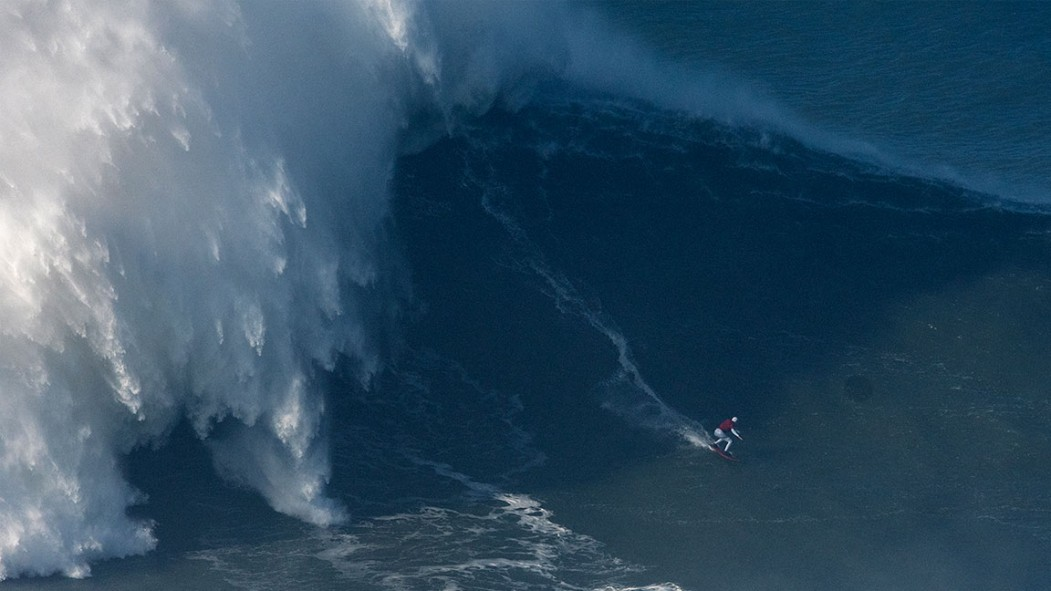 Surfer Maya Gabeira's 68-Foot Wave Ride in Portugal Becomes Official World Record thumbnail