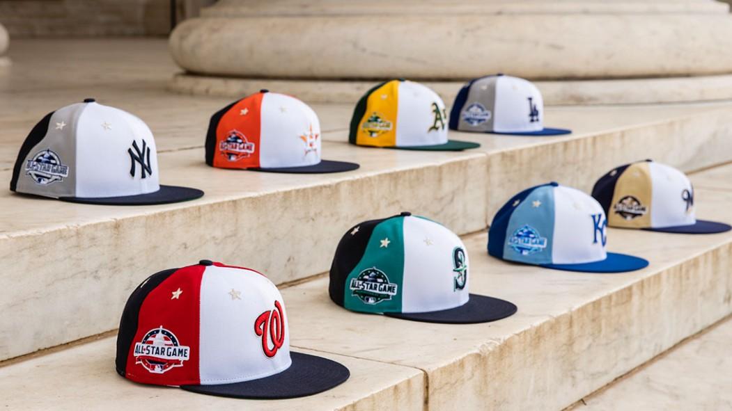 MLB All-Star Game 2018: See New Era's Throwback-Style Hats  thumbnail