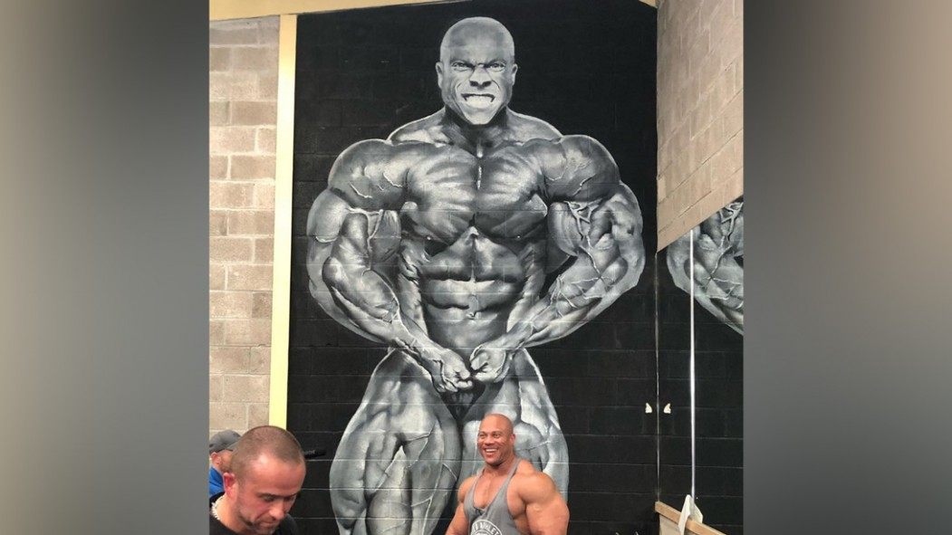 This Gym Surprised Phil Heath With an Amazing Mural thumbnail