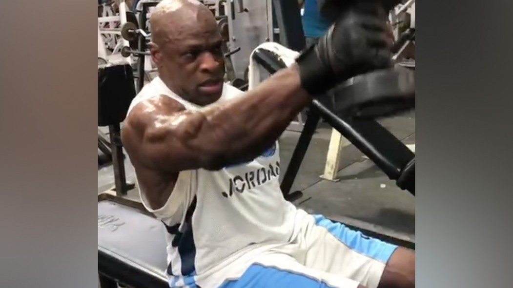 Ronnie Coleman Is Still Jacked After 6 Months Off thumbnail