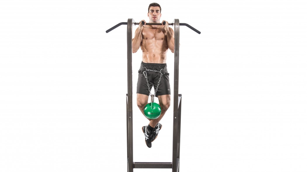 How to Do Kettlebell Weighted Pullups thumbnail