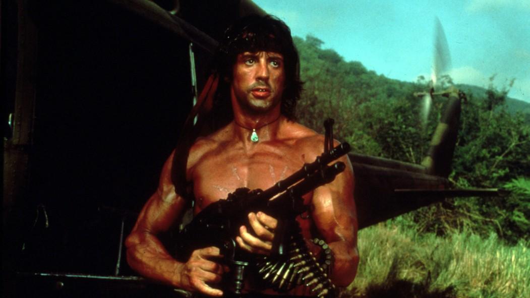 Sylvester Stallone as Rambo thumbnail