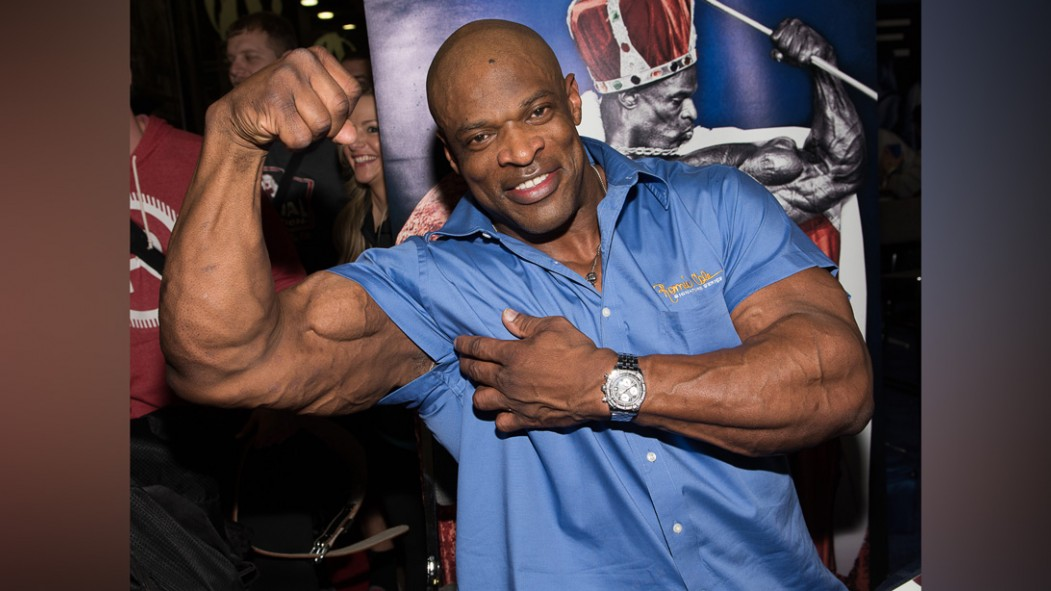Ronnie Coleman attends the Arnold Sports Festival 2015 thumbnail
