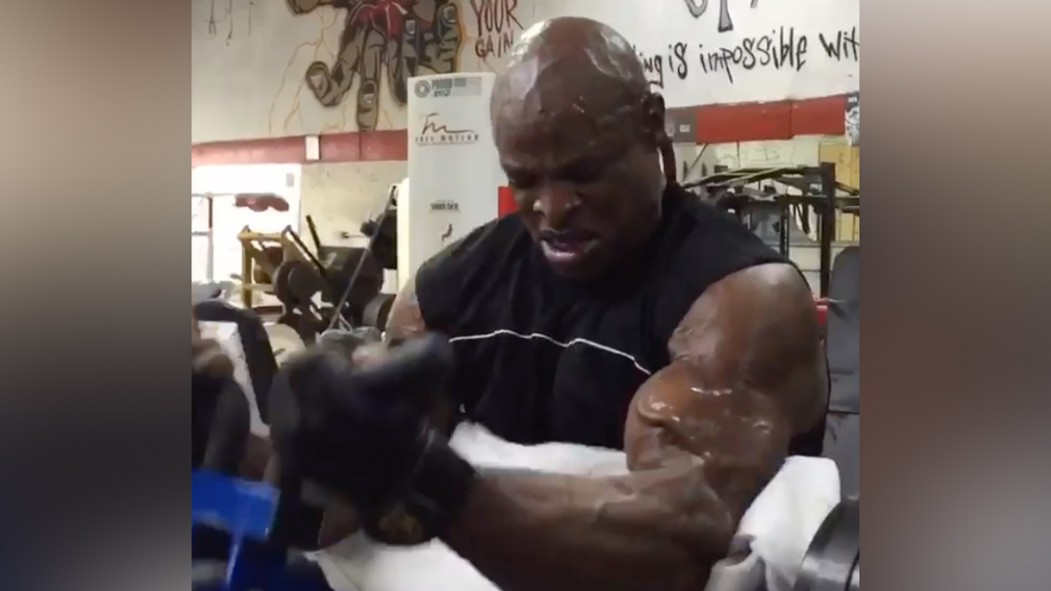Ronnie Coleman Is Back in the Gym thumbnail
