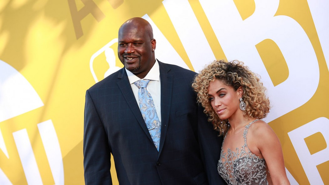 Shaquille O'Neal attends the 2017 NBA Awards at Basketball City - Pier 36 - South Street on June 26, 2017 in New York City.  thumbnail