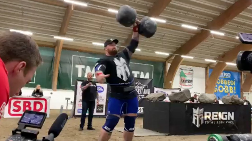 Hafthor Bjornsson Wins 9th Consecutive Iceland's Strongest Man Title thumbnail