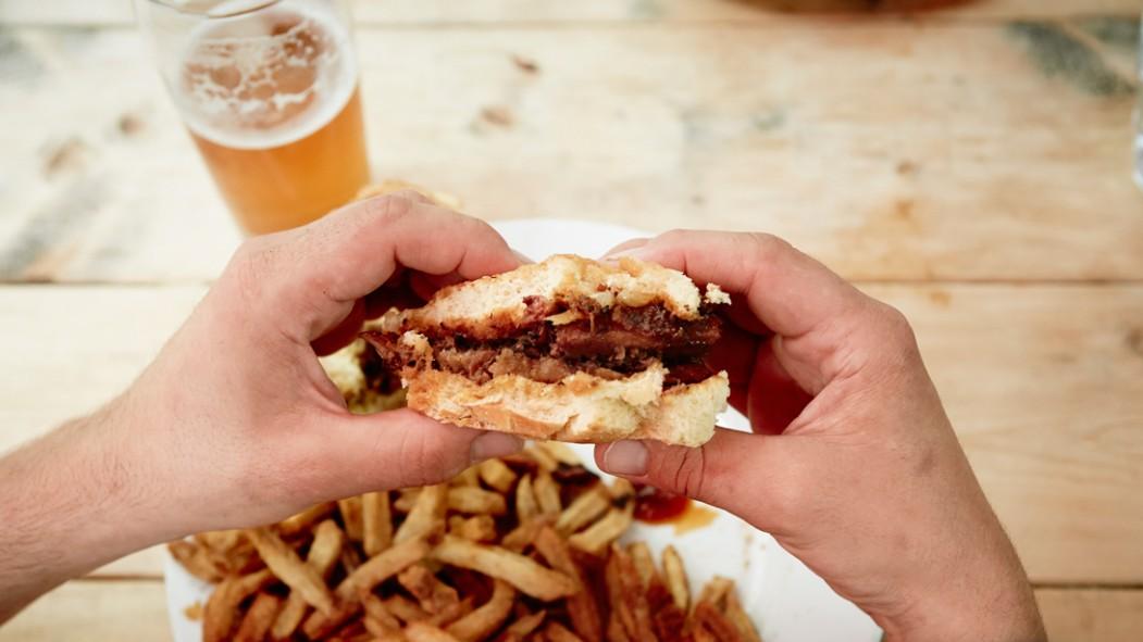 Man Eating Fast Food thumbnail