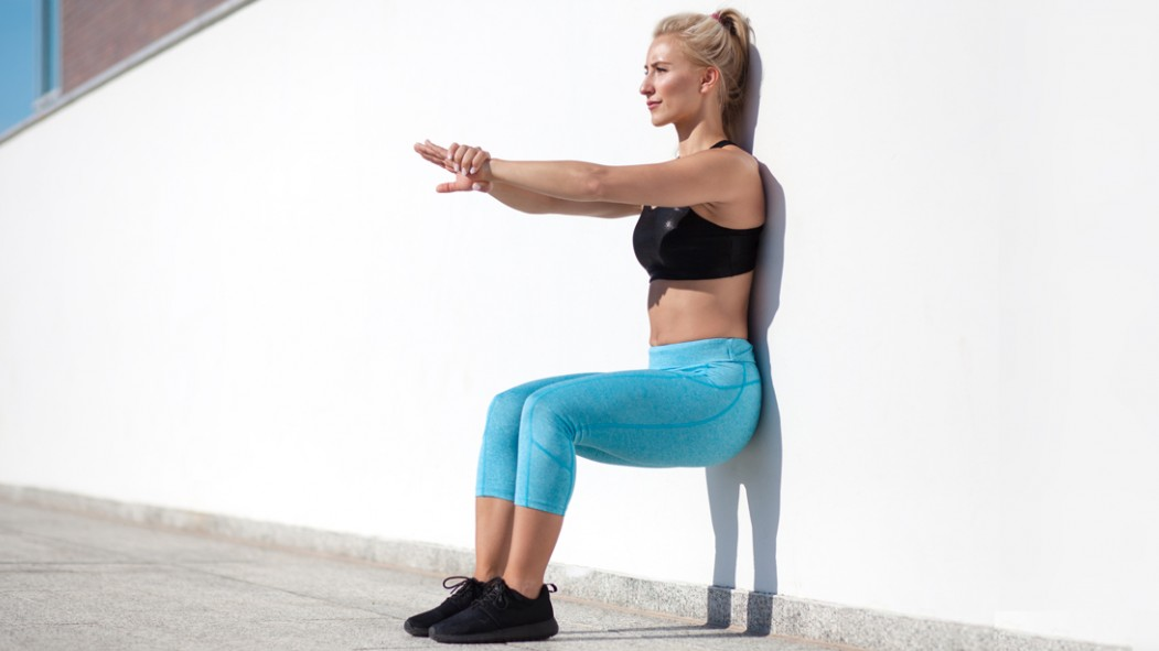 Wall Sit Exercise thumbnail