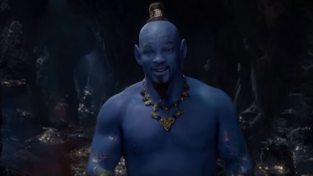 Will Smith's Blue Genie in 'Aladdin' Teaser Trailer Breaks the Internet thumbnail