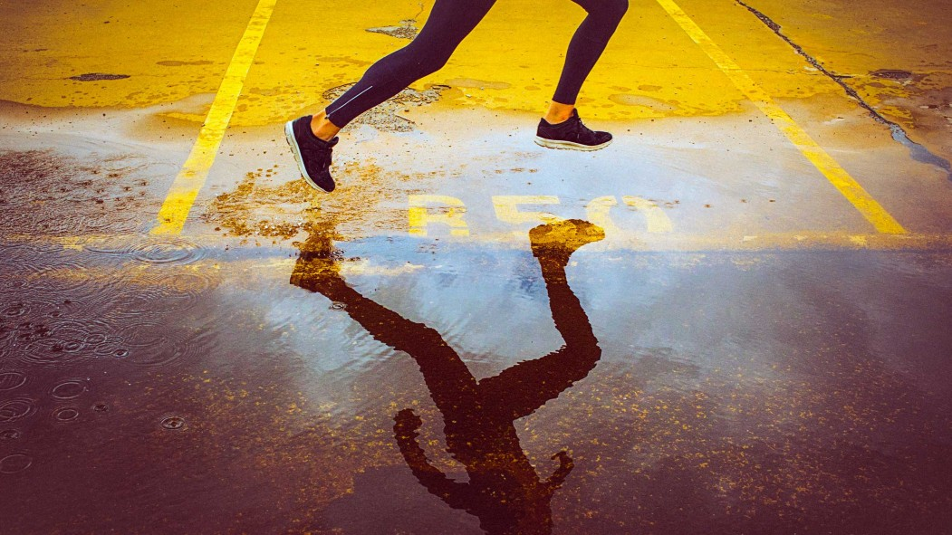 Woman Running Outdoors thumbnail