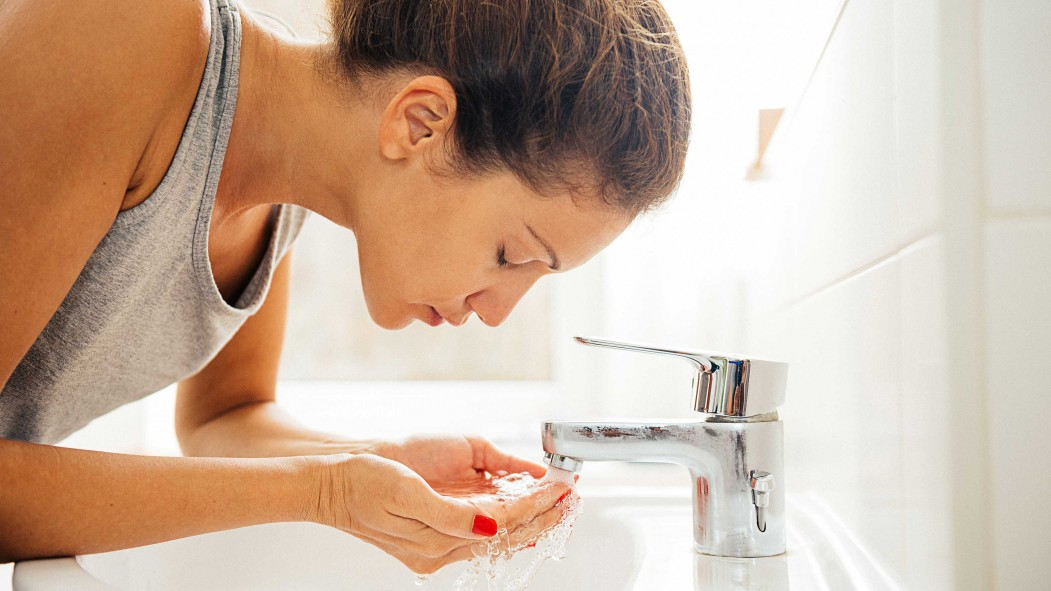 Woman Washing Face thumbnail