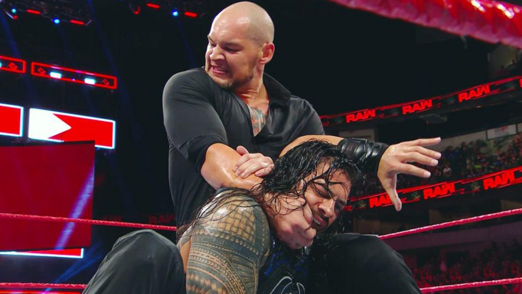 'Raw' Recap: Roman Reigns Fends Off Baron Corbin in Brutal Championship Bout thumbnail