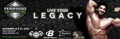 2015 IFBB Ferrigno Legacy Pro
