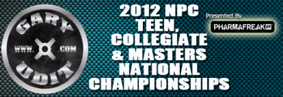 NPC Teen, Collegiate and Masters 2012