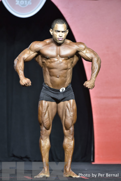 Omar Bautista - Classic Physique - 2016 Olympia