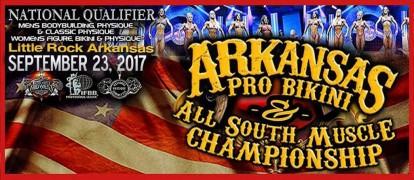 Official Scorecards: 2017 IFBB Arkansas Pro Bikini