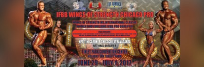 2017 IFBB Wings of Strength Chicago Pro