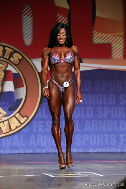 Brittany Campbell - Figure - 2018 Arnold Classic