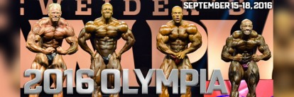 2016 Olympia Fitness & Performance Weekend