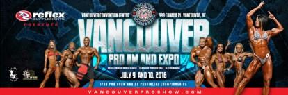 2016 IFBB Vancouver Pro