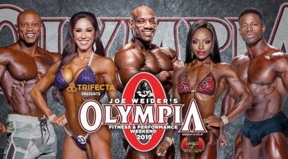 2019 Joe Weider's Olympia Fitness & Performance Weekend