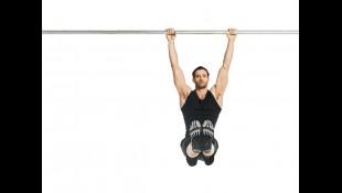 10 Minute Abs Man Doing Core Exercise Bar  thumbnail