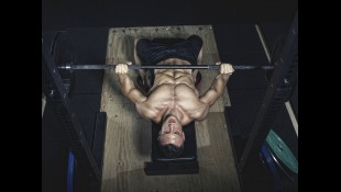 Man performing barbell bench press thumbnail